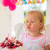 little girl blowing candles on her birthday cake stock photo © dash