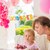 tatlı · küçük · kız · doğum · günü · partisi · sevimli · kız - stok fotoğraf © dash