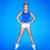permanente · een · teen · bevallig · ballerina · been - stockfoto © dash