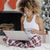 mulher · compras · on-line · laptop · natal · casa - foto stock © dash
