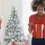 opening · christmas · geschenken · mooie · vrouw · genieten - stockfoto © dash
