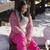 belle · asian · fille · séance · neige · montagnes - photo stock © dash