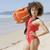 ライフガード · 女性 · 救助 · フロート · 徒歩 · ビーチ - ストックフォト © dash