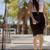 молодые · деловая · женщина · такси · за · пределами · город · счастливым - Сток-фото © dash