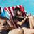 начала · женщину · пловец · бассейна · гонка - Сток-фото © dash
