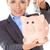udany · szczęśliwy · kobieta · oszczędność · ceny · zawodowych - zdjęcia stock © dash