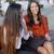 two young women sharing a good joke stock photo © dash