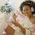 mutlu · kız · müzik · kulaklık · mutlu · küçük · kız · yalıtılmış - stok fotoğraf © dash