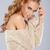 sexy · donna · bionda · spalla - foto d'archivio © dash