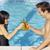 красивый · пару · Бассейн · воды · человека · лет - Сток-фото © dash