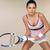 kobieta · gry · tenis · atrakcyjna · kobieta · odzież · sportowa - zdjęcia stock © dash