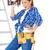 feliz · mujer · pie · herramienta · cinturón - foto stock © dash