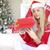 touchpad · portret · kerstman · naar - stockfoto © dash