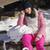 feliz · mulher · esquiar · botas · sessão - foto stock © dash