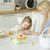 familia · Pascua · feliz · vacaciones · madre · pintura - foto stock © dash