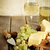 picado · nozes · faca · comida - foto stock © dashapetrenko