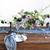 fehér · gyertyák · rózsa · égő · mintázott · klasszikus - stock fotó © dashapetrenko