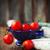 赤 · ピーマン · トマト · ボウル · 暗い · 背景 - ストックフォト © dashapetrenko