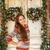 девушки · окна · Рождества · Cute · мало · ребенка - Сток-фото © dashapetrenko