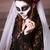 primo · piano · ritratto · pallido · gothic · vampiro · donna - foto d'archivio © dashapetrenko