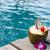 kokosnoot · stro · zomer · strand · vruchten - stockfoto © dashapetrenko