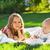 家族 · 2 · 子供 · ピクニック · 肖像 · 父から息子 - ストックフォト © dashapetrenko