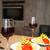espaguetis · salsa · de · tomate · vino · tinto · cocina · casa · casa - foto stock © dashapetrenko