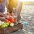 bes · dranken · garnering · voedsel · partij - stockfoto © dashapetrenko