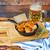 vitela · salsichas · prato · cerveja · pretzel · toalha - foto stock © dashapetrenko