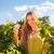 kadın · üzüm · hasat · zaman · bağ - stok fotoğraf © dashapetrenko