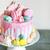 Geburtstag · Überlieferung · cute · Mädchen · schauen · Geburtstagskuchen - stock foto © dashapetrenko