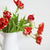 tulipánok · virágcsokor · fehér · váza · fából · készült · rusztikus - stock fotó © dashapetrenko