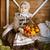 vintage styled photo of little smiling girl in farm stock photo © dashapetrenko