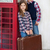 czerwony · podróży · przypadku · dwa · biały · walizkę - zdjęcia stock © dashapetrenko