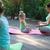 moeder · baby · oefening · buitenshuis · park · heldere - stockfoto © dashapetrenko