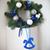 christmas wreath with natural decorations stock photo © dashapetrenko