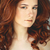 belo · jovem · mulher · sardas · retrato - foto stock © dashapetrenko