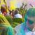giovane · colore · festival · uomo · viaggio - foto d'archivio © dashapetrenko