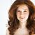 hermosa · jóvenes · mujer · pecas · retrato - foto stock © dashapetrenko