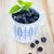 delicioso · frescos · arándano · blanco · azul · taza - foto stock © dashapetrenko