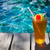alcool · cocktail · turquoise · orange · sang · fruits - photo stock © dashapetrenko