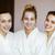 three young happy women at spa resort stock photo © dashapetrenko