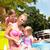 havuz · gülme · genç · kadın · su - stok fotoğraf © dashapetrenko