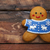Navidad · cookies · chocolate · tazón - foto stock © dashapetrenko