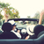 libertad · feliz · libre · Pareja · coche · conducción - foto stock © dashapetrenko