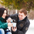 winter · park · cute · jonge - stockfoto © dashapetrenko