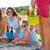 Strand · Party · teens · Gitarre · Frauen · Kinder - stock foto © dashapetrenko