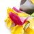 yellow and pink cala lilies with present stock photo © dashapetrenko