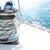 corda · iate · barco · navio · veleiro · velejar - foto stock © dashapetrenko