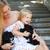 moeder · hond · puppies · jonge · kinderen - stockfoto © dashapetrenko